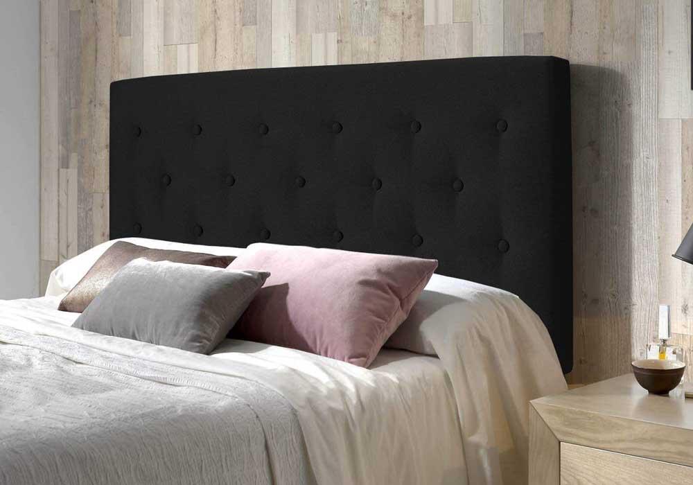 Cabecero de cama tapizado Marckonfort Oslo Antracita