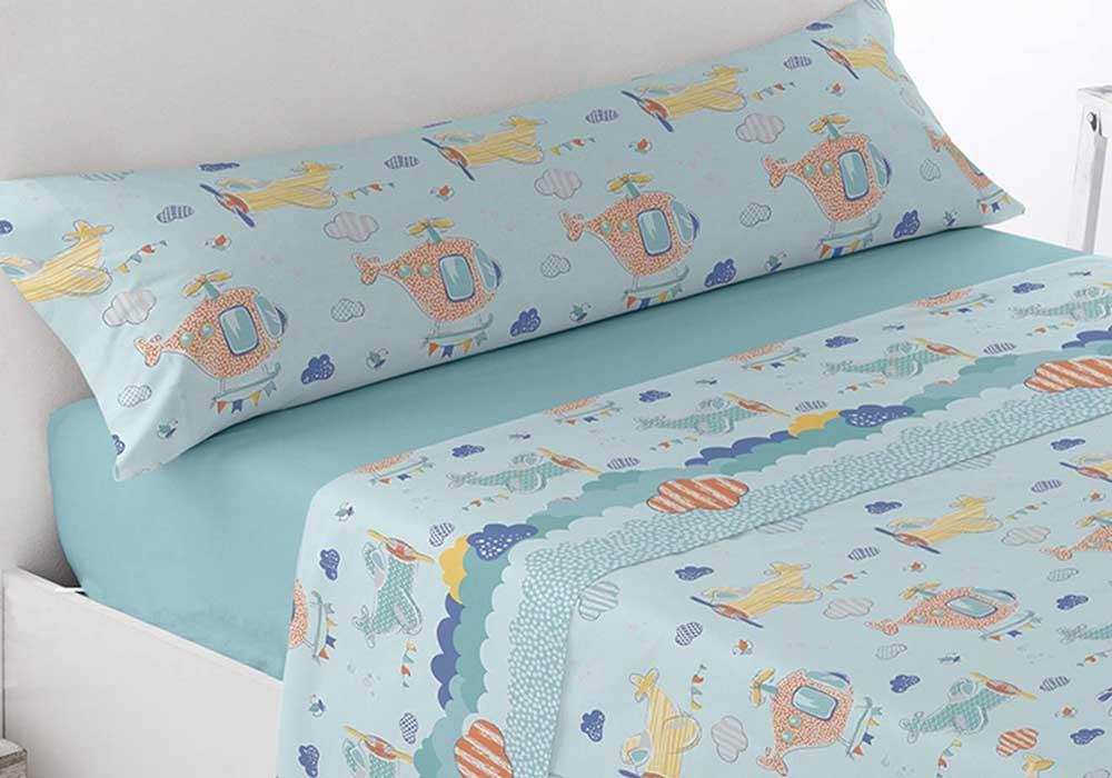 Sábanas infantiles Ok Textil Azul